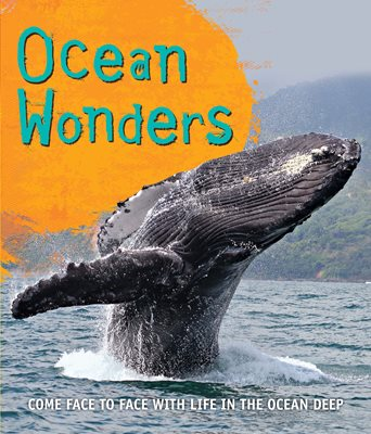 Book cover for Fast Facts! Ocean Wonders